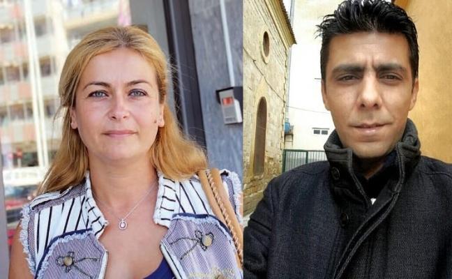 Η Σιμπέλ Μουσταφάογλου και ο Γιασάρ Δαγλή.